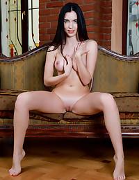 Velana nude in erotic LITTLE BLACK Sundress gallery - MetArt.com