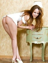Youngster and awake model near charming personality and enticing, sweet body.