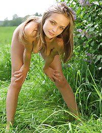 Sexy hottie in nature